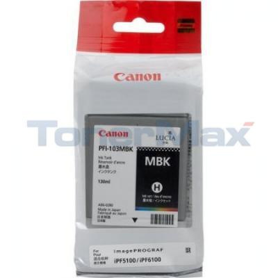 CANON PFI-103 INK TANK MATTE BLACK 130ML